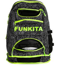 Funkita Elite Squad - Mochila natación - blanco/negro
